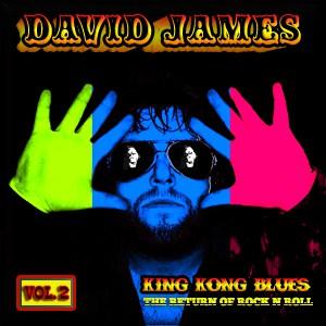 Album King Kong Blues Vol.2 CD By David James In Boston